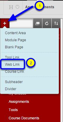 Select Web Link.