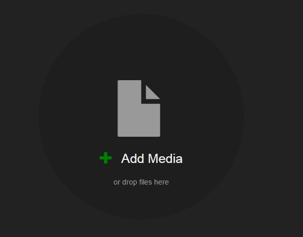 Click Add Media.