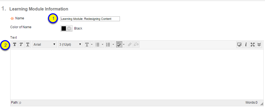 Add any additional text for this module.
