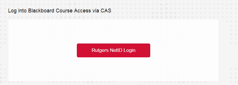 Click Rutgers NetID Login. If prompted, enter your Rutgers NetID and password.