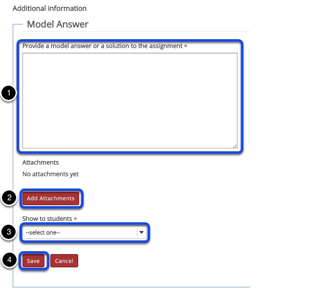 Model answer.