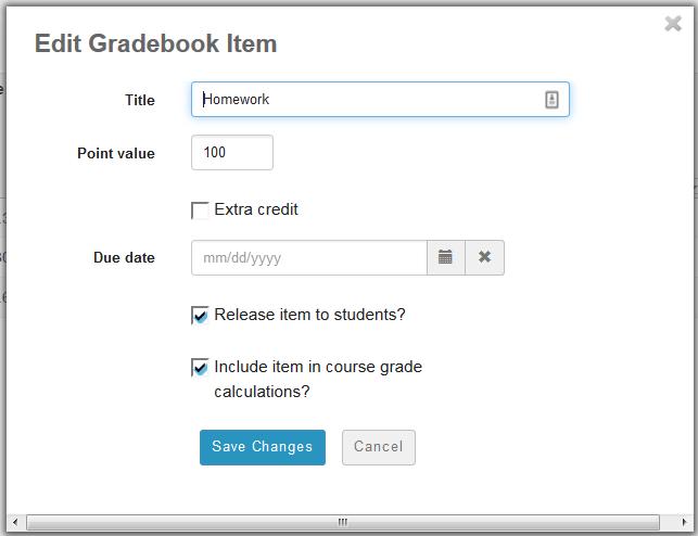 Homework is worth 100 points.