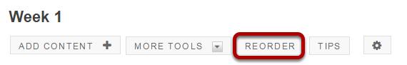 Method 2: Click Reorder.
