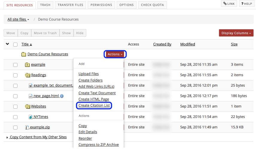 Method 1: Import RIS file.
