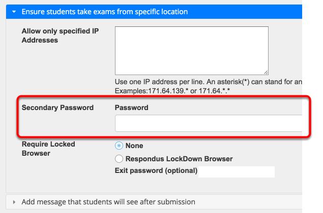 Add Password