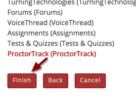 """Click """"Finish"""" to save changes"""