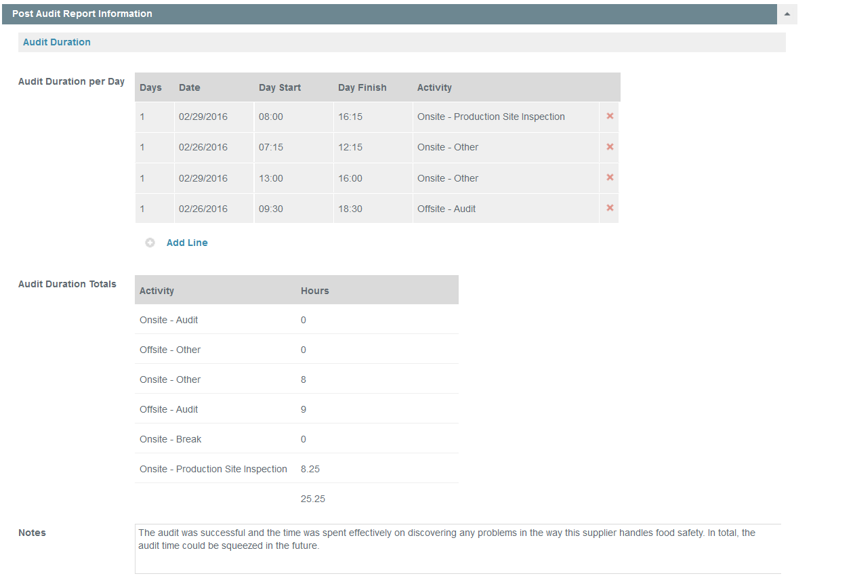 Complete Your Post Audit Report