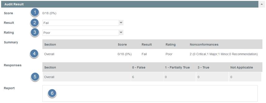 Complete Audit Result
