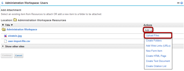Upload your file.