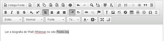 Clique no ícone Link