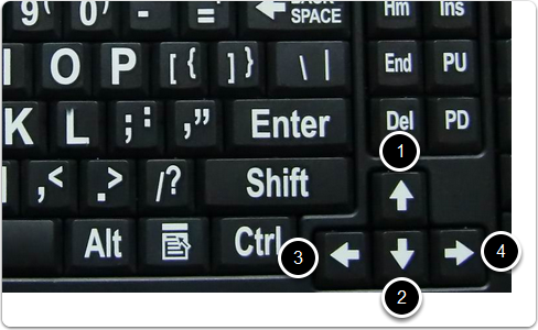 Pan by Keyboard