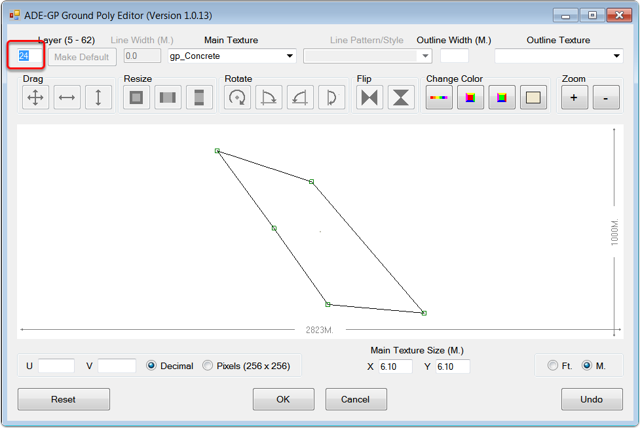 Edit the layer number in the GP Editor