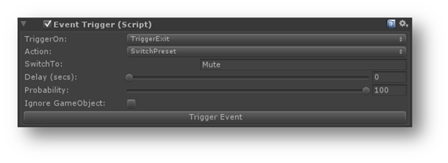 Switch preset at runtime