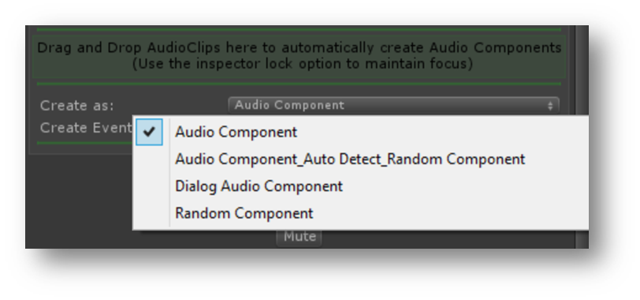 Import Selected Audio Clips