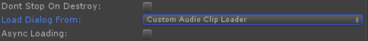 Custom AudioClip Loader (Dialog Audio Component)