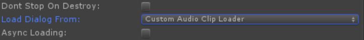 Custom AudioClip Loader (Dialog Audio Component)