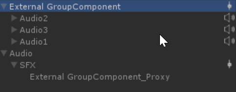 External Group Components
