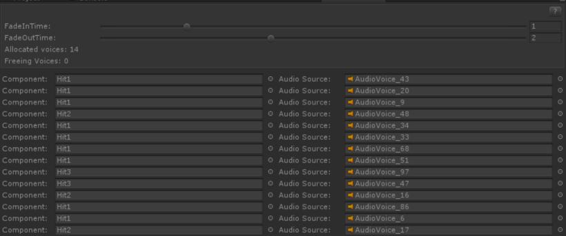 Audio Source Pool