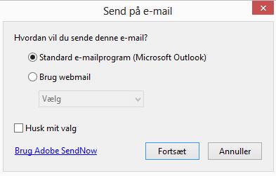 Send PDF som mail
