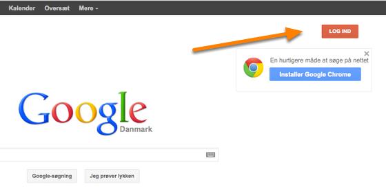 Gå på Google