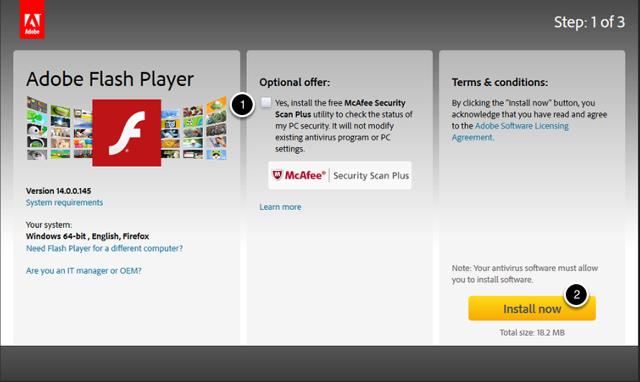 Adobe - Install Adobe Flash Player - Mozilla Firefox