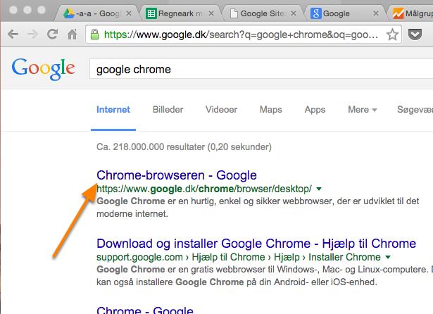Hent Google Chrome (Windows)