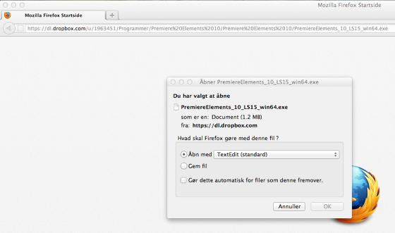 Download installationsprogrammet