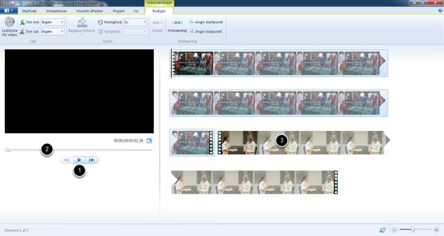 Videoerne er importeret