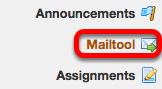 Go to Mailtool.