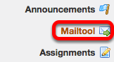 Go to Mailtool.