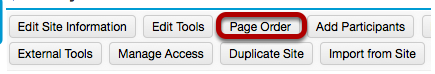 Method 2: - Click Page Order.