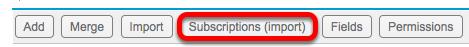 Click Subscriptions.
