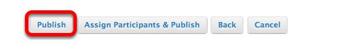 Click Publish.