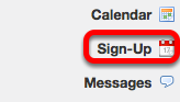 Go to Sign-up.