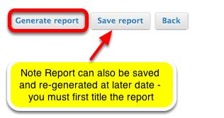 Click Generate Report.