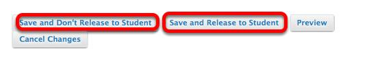"""Option 1 - Grading - Click """"Save and Release"""" or """"Save and Don't Release"""""""