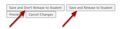 """Click """"Save and Release"""" or """"Save and Don't Release"""""""