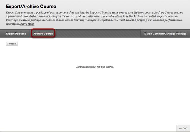 Step 2 - Choose Archive