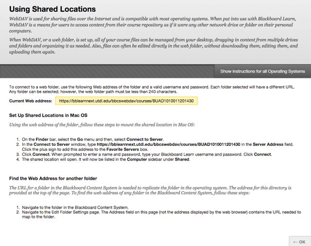 Image of the Using Shared Locations instructions