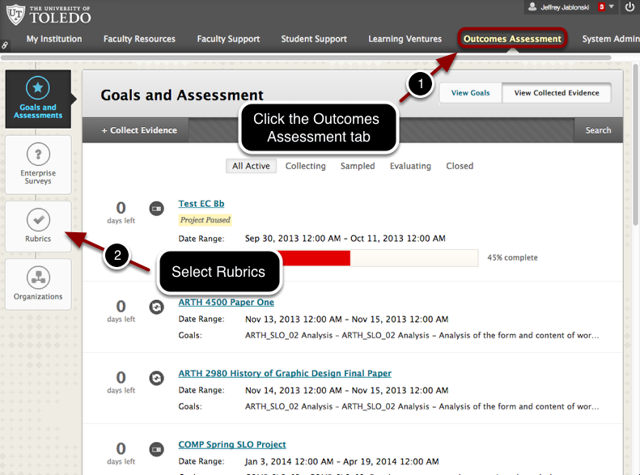 Step 1 - Access Outcomes Assessment