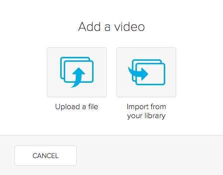 Adding a Video