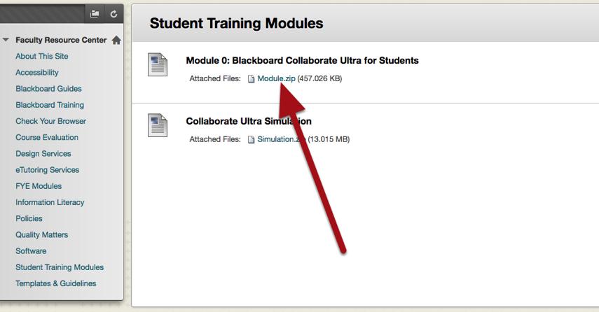 Download the Module.zip File