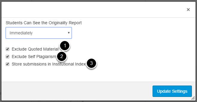 Modify default settings.