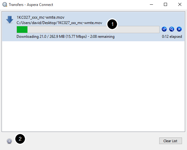 Download Aspera Connect