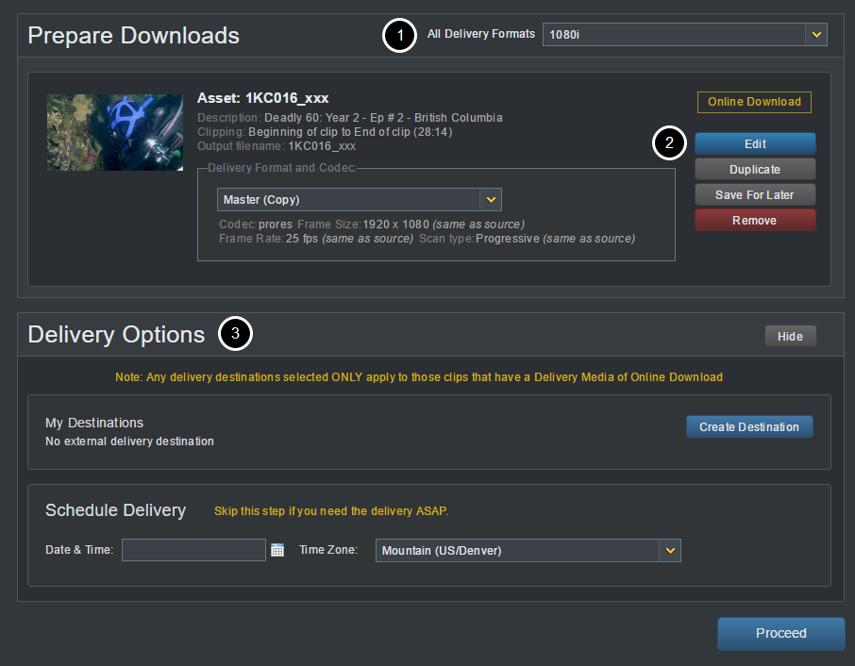 Example: Prepare Downloads Page