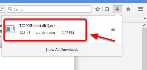 3. Click the download to open.