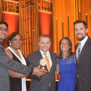 Scripps D.C. Bureau team accepts Peabody Award