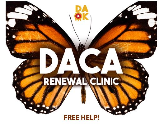 Thumbnail Image for Article DACA Renewal Clinic Set March 25