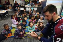 Thumbnail Image for Article Tulsa Oilers Visit Grove Elementary
