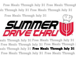 Free Meals to Continue Through July 31